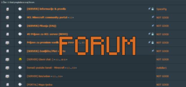 Registrirajte se i sudjelujte na našem forumu!